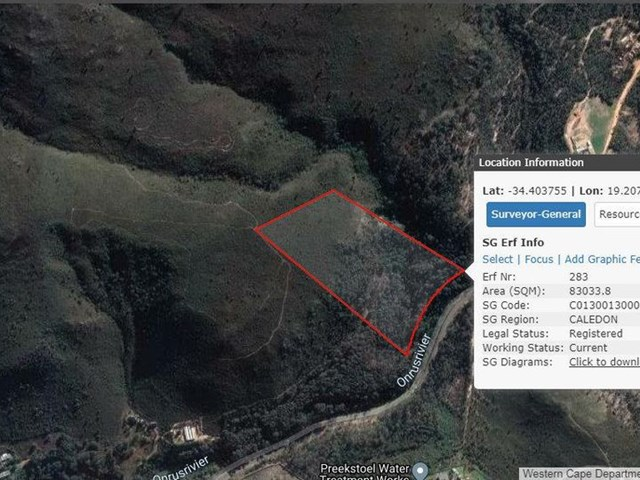 Hermanus Vacant Land For Sale