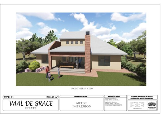 3 Bedroom House for Sale in Vaal de Grace Golf Estate
