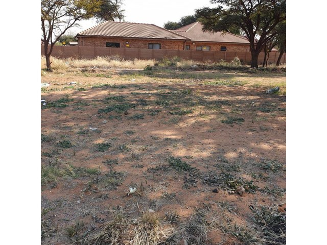 Kathu Vacant Land For Sale