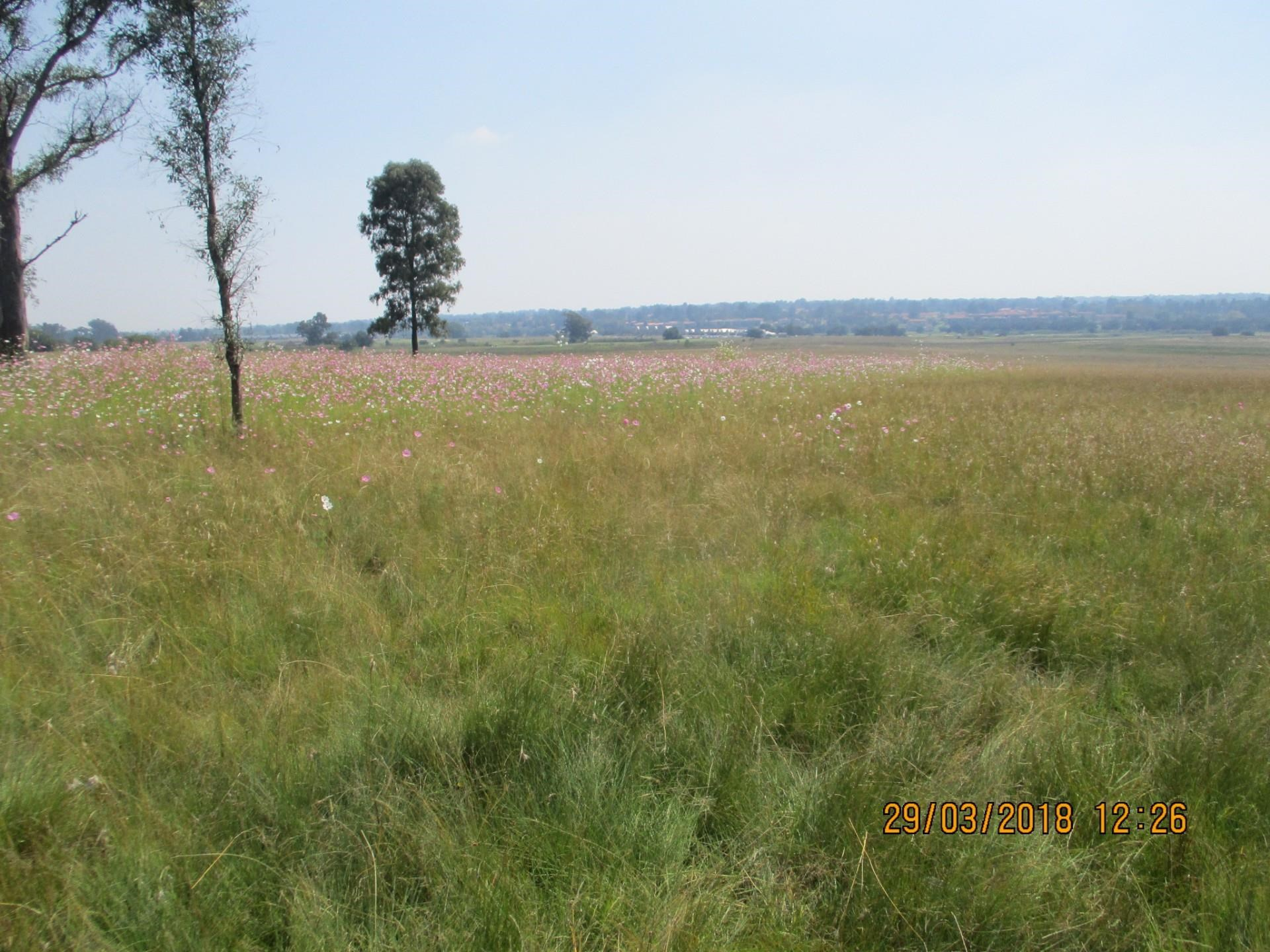 Vacant Land for Sale in Vaalpark