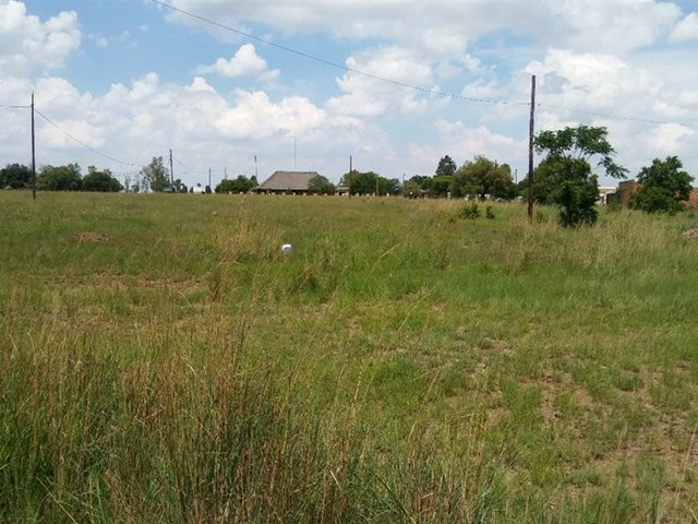 Oranjeville Vacant Land For Sale